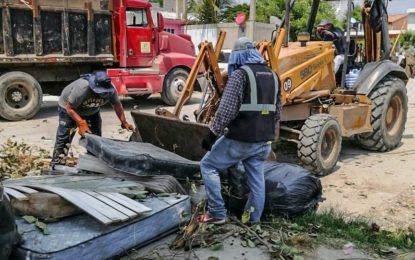 Recolecta más de mil toneladas de cacharro durante jornadas