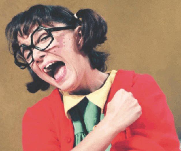 """María Antonieta quiere que la """"Chilindrina"""" se vuelva caricatura"""