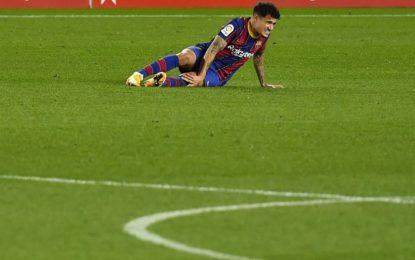 Coutinho será intervenido por una lesión de menisco