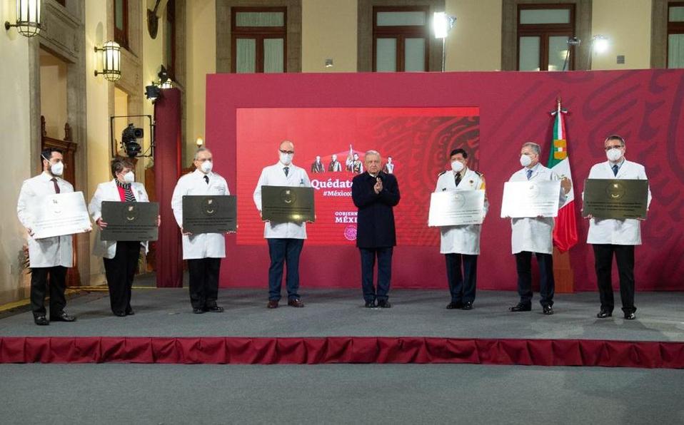 Por lucha contra covid-19, reciben 980 hospitales condecoración Miguel Hidalgo
