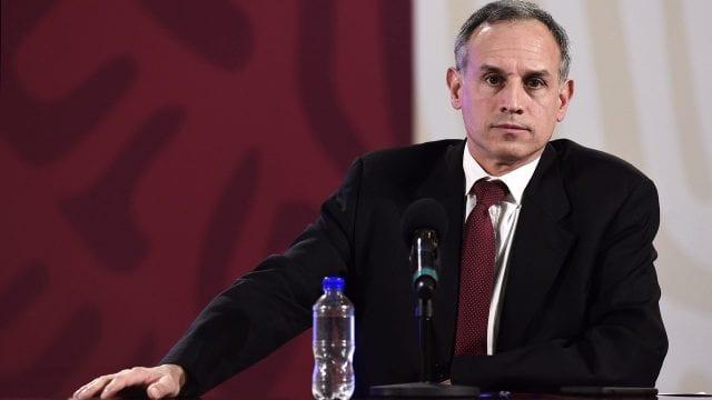 Hugo López-Gatell, subsecretario de Salud, da positivo a covid; síntomas son leves, dice