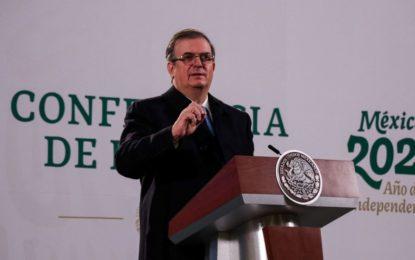 Conacyt apoya al menos 4 proyectos para tener vacuna anticovid mexicana: Ebrard