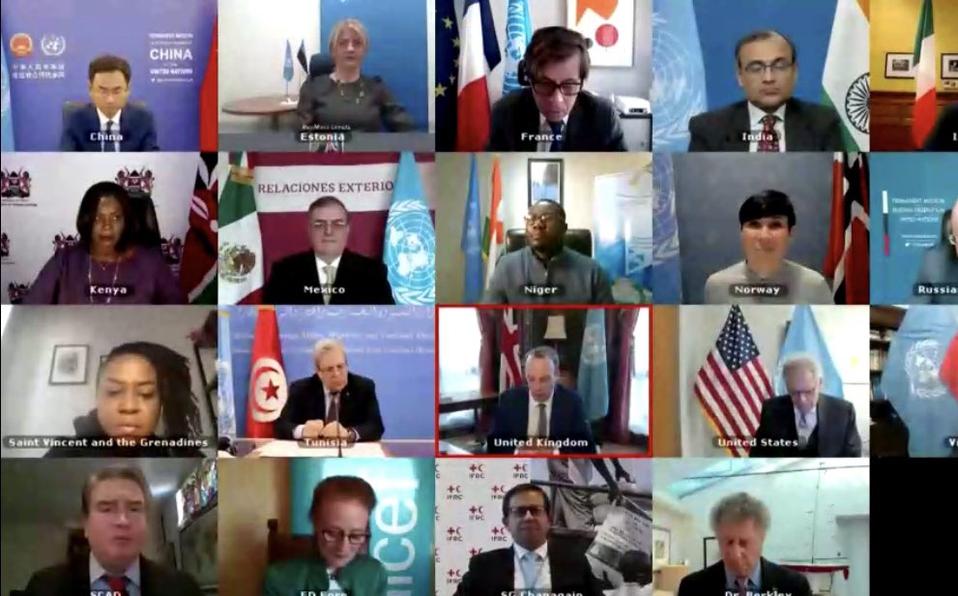 Acaparamiento de vacunas anticovid abrió enorme brecha entre países: Ebrard ante ONU