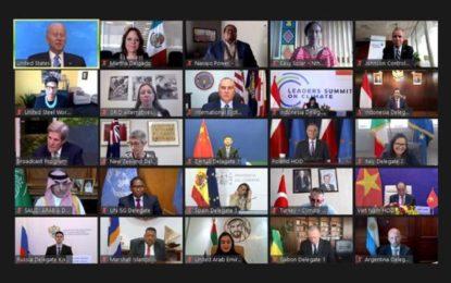 "Cumbre virtual sobre cambio climático, el ""primer paso"" previo a reunión de ONU: SRE"