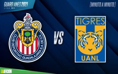 Juego de Tigres HOY: Chivas vs Tigres PREVIA. Jornada 17 Liga MX 2021