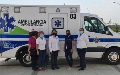 Iglesia de Estados Unidos dona ambulancias al Cedes de Tamaulipas