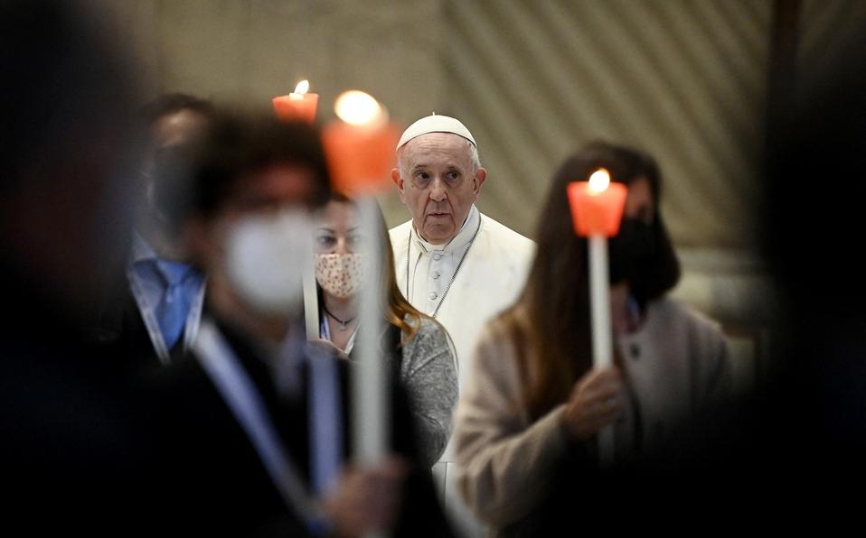 """Papa Francisco inicia """"maratón de oración"""" contra la pandemia"""